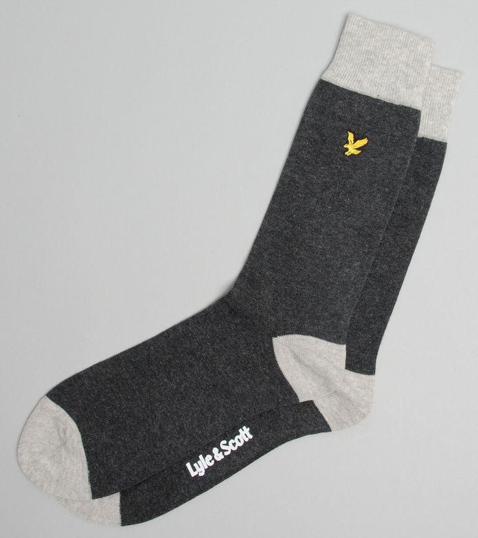 Lyle & Scott Cont Sock