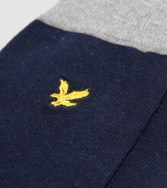 Lyle & Scott Cont Sock