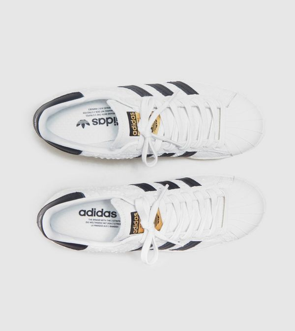 Cheap Adidas Superstar Boost PK (White & Core Black) End Clothing
