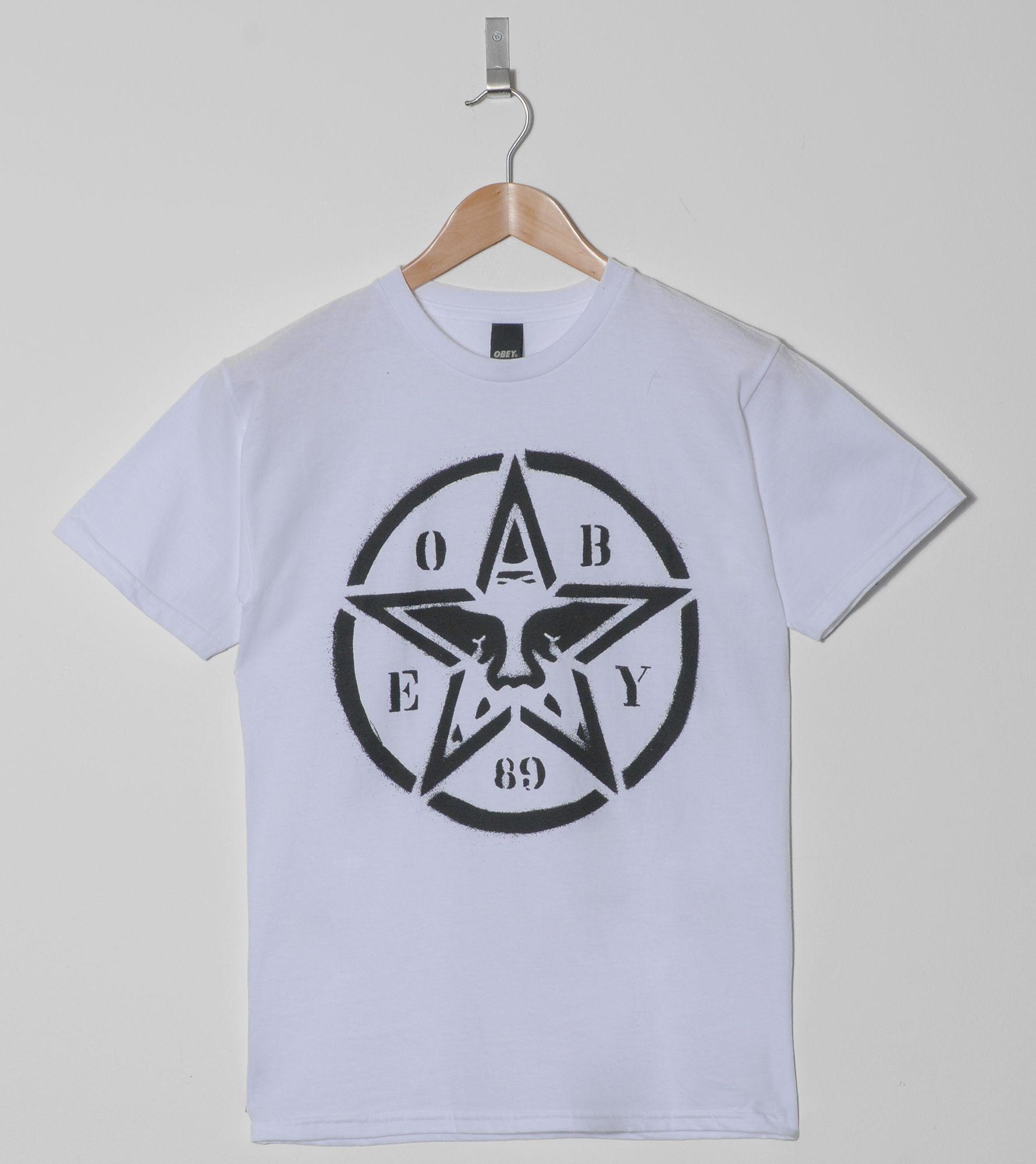 Obey Star Stencil T-Shirt | Size?