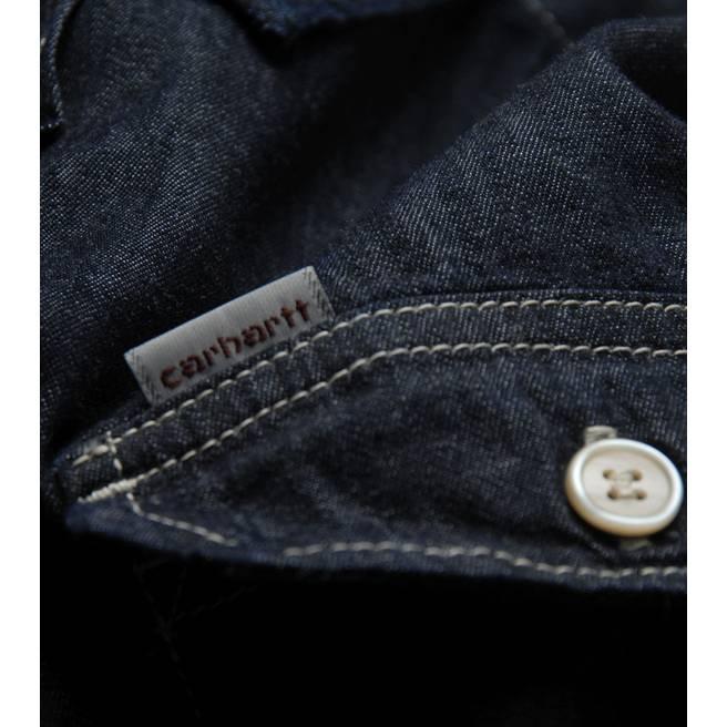Carhartt Wing Dark Denim Long Sleeved Shirt