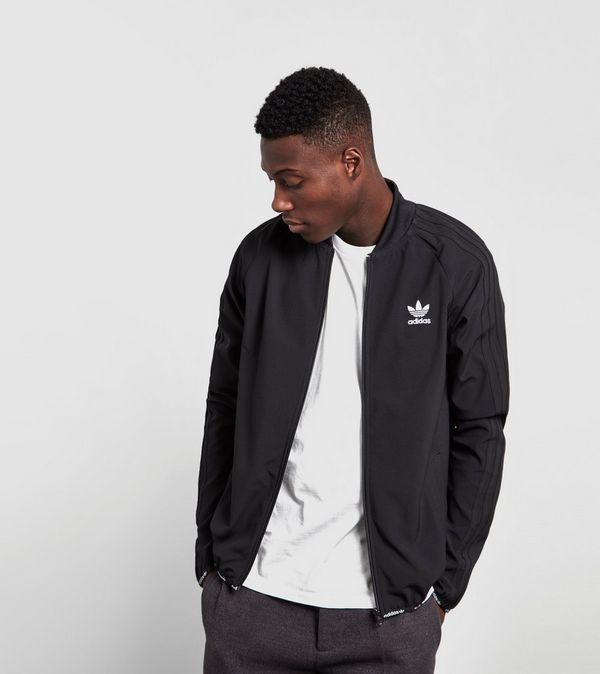 adidas originals superstar track top black