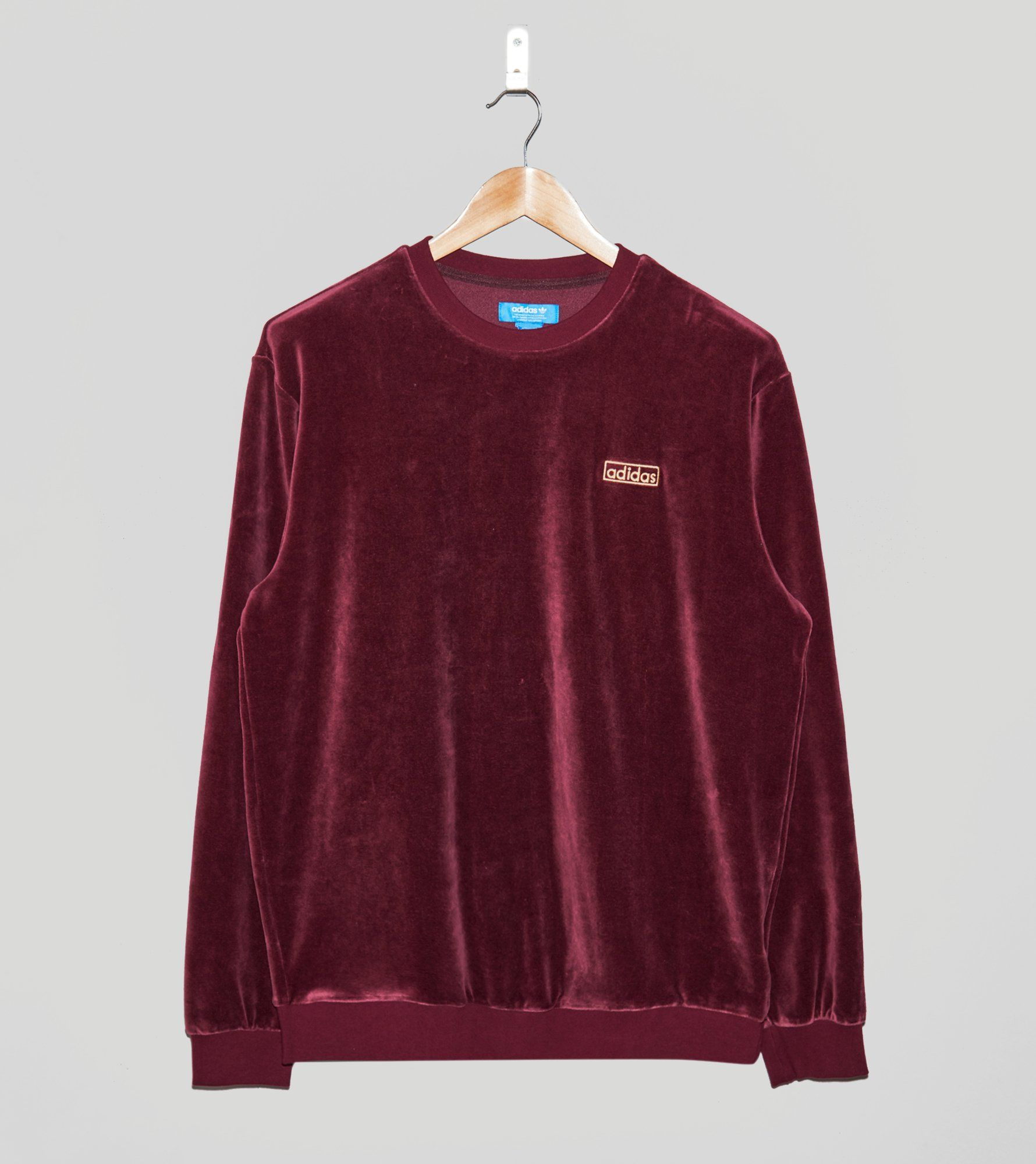 adidas Originals Velour Crew Sweatshirt