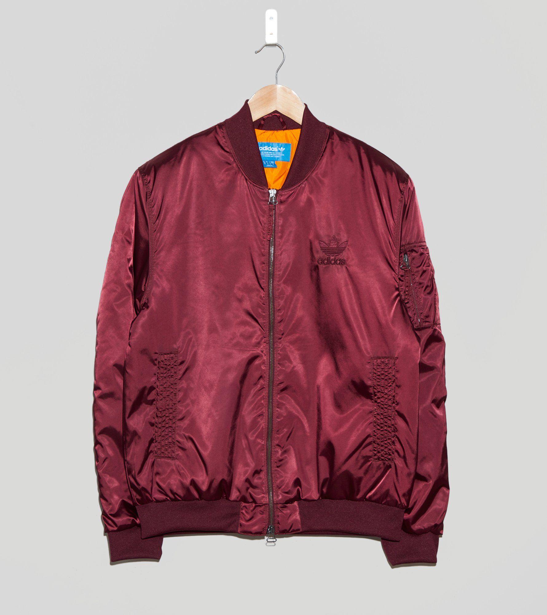 ¿Adidas Originals MA1 Superstar chaqueta bomber talla?