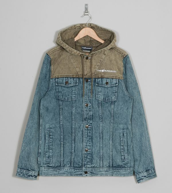 The Hundreds Warner Hooded Denim Jacket Item # Stash Points: 1, (?) This is the number of points you get in The Zumiez Stash for purchasing this item.