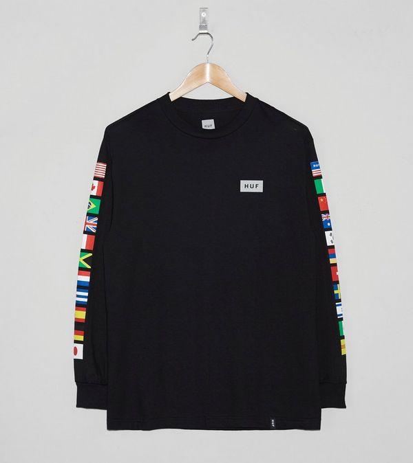 968b4f8e6b3 HUF Flags Long-Sleeved T-Shirt