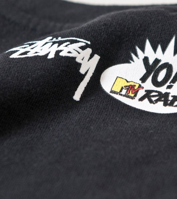 Stussy x Yo! MTV Raps Public Enemy Sweatshirt  3ec0b993f275