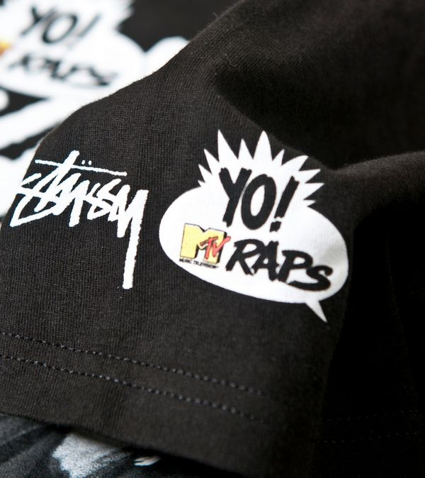 Stussy x Yo! MTV Raps Slick Rick T-Shirt  0a3402391e12