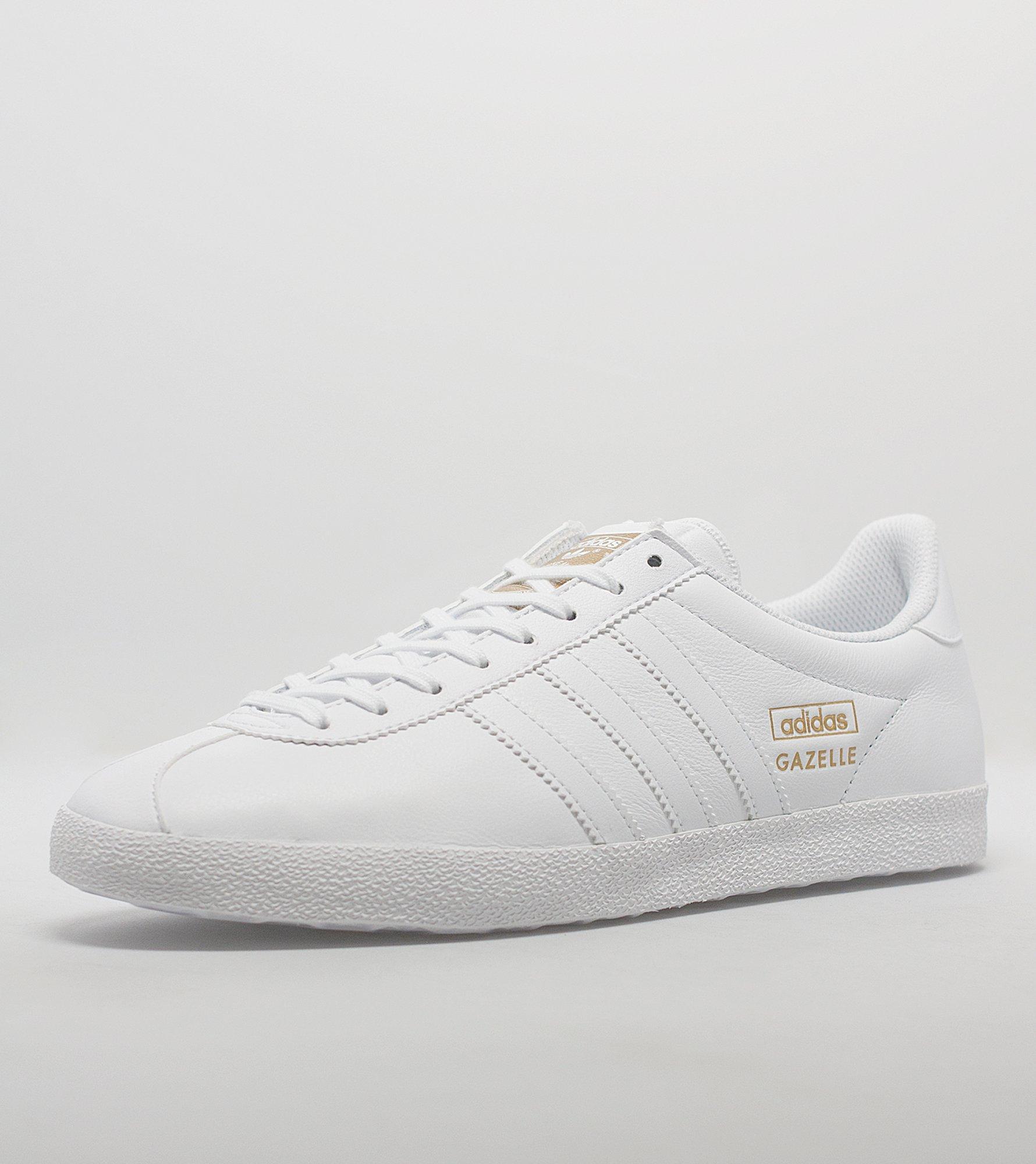 Adidas Originals Gazelle Og Leather Black/Gold