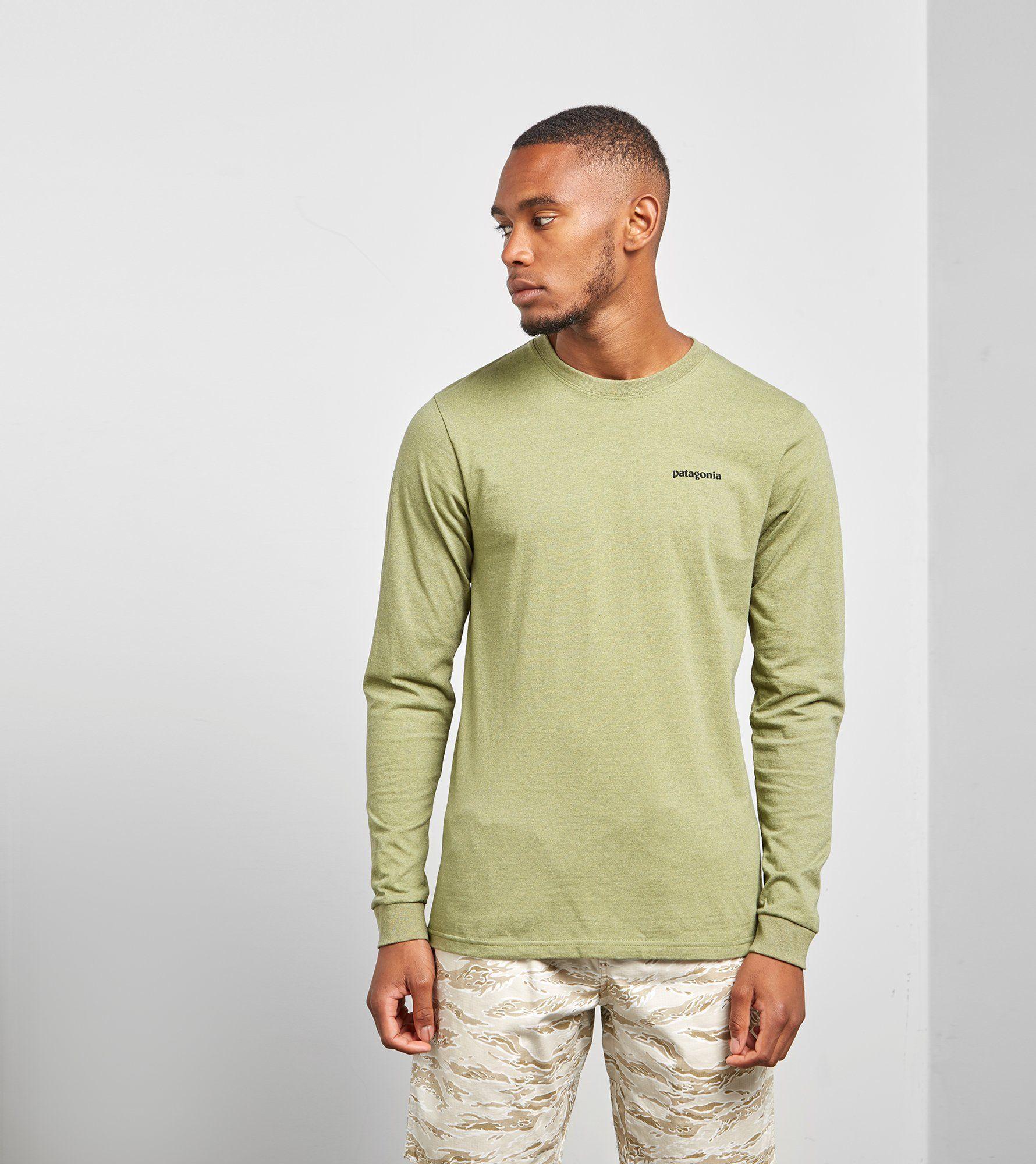 Patagonia Long Sleeved P-6 Responsibili T-Shirt