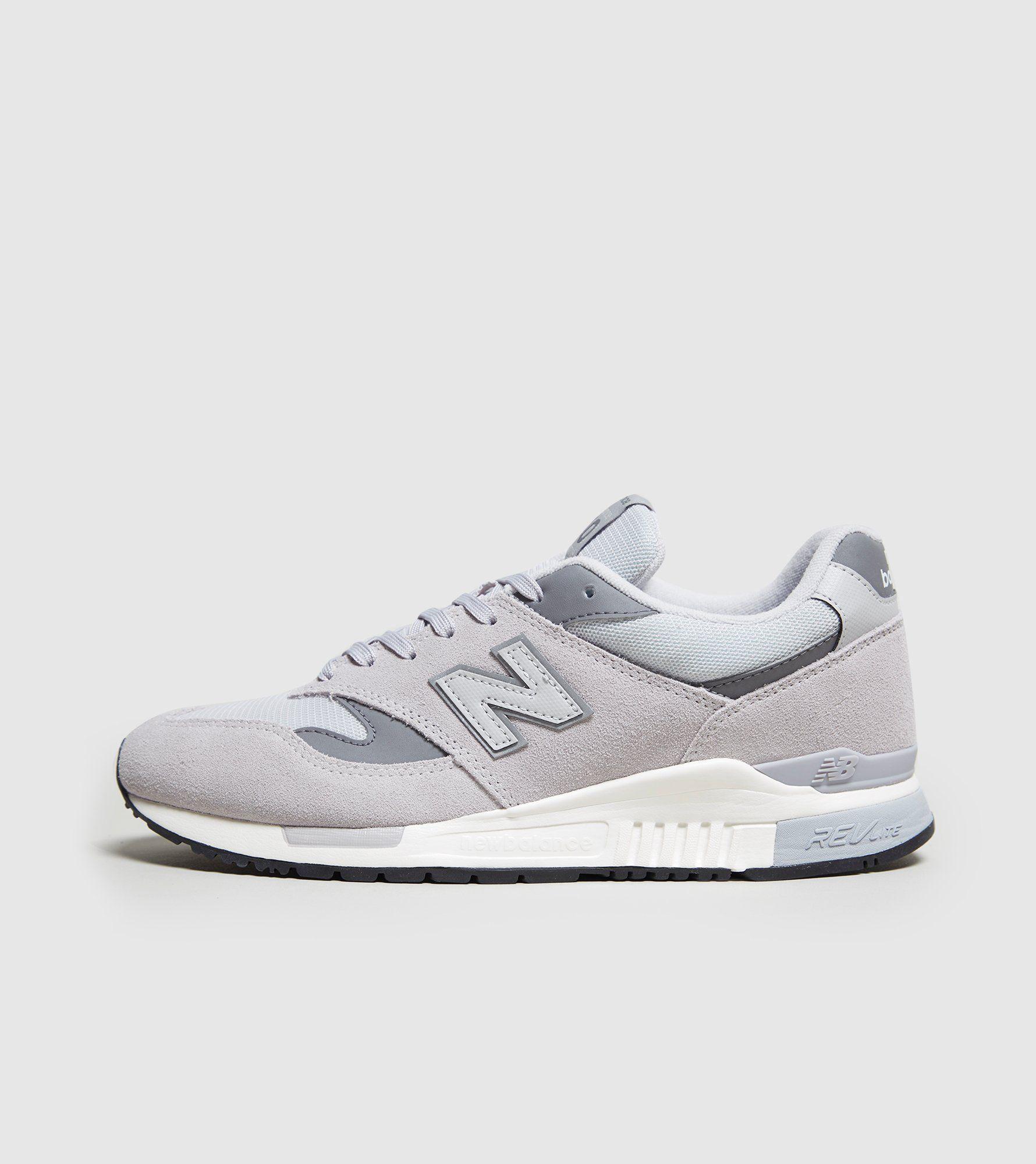 New Balance 840 Chaussures De Sport Logo - Gris