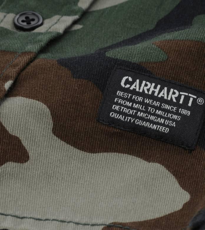 Carhartt Military Camo Long Sleeve Shirt