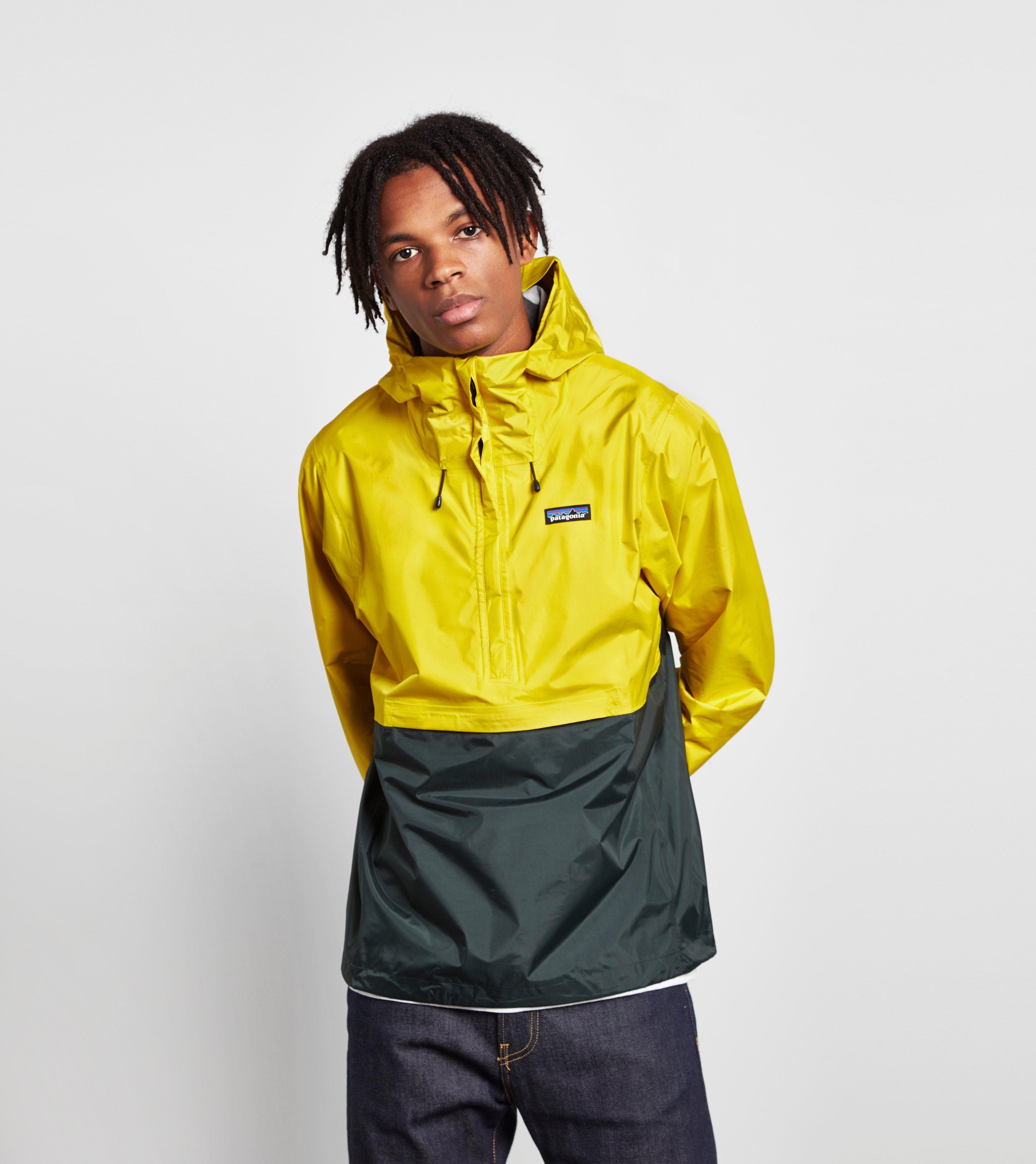 patagonia half zip torrentshell hooded jacket size. Black Bedroom Furniture Sets. Home Design Ideas