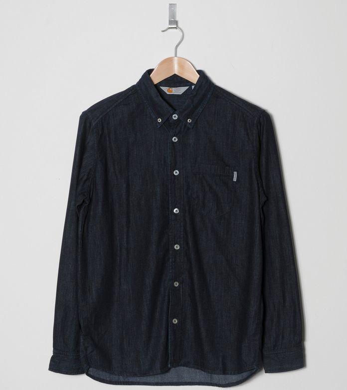 Carhartt WIP Civil Denim Long Sleeved Shirt