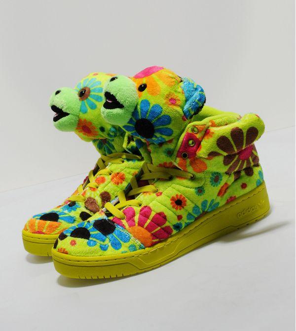 c31c675b1632 Adidas Originals x ObyO Jeremy Scott Teddy Bear  Flower Power