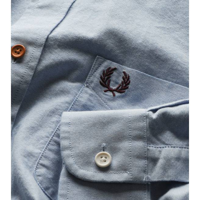 Fred Perry Oxford Long Sleeved Shirt