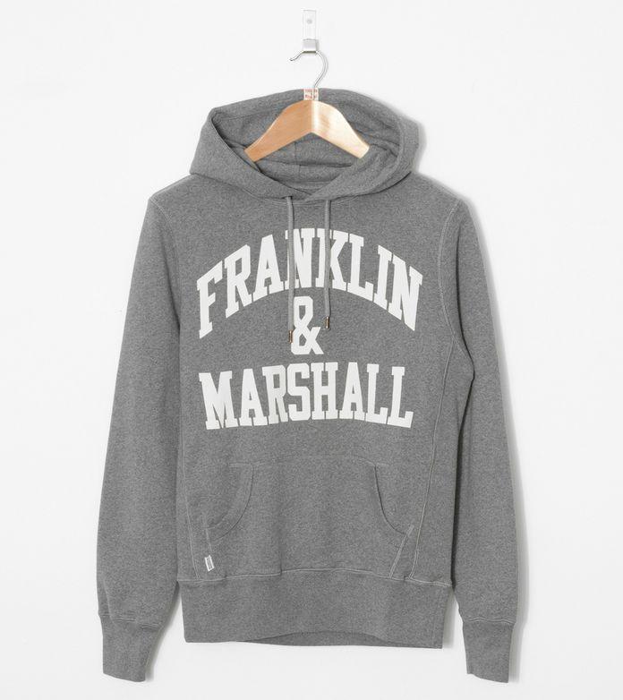 Franklin & Marshall Script Overhead Hoody
