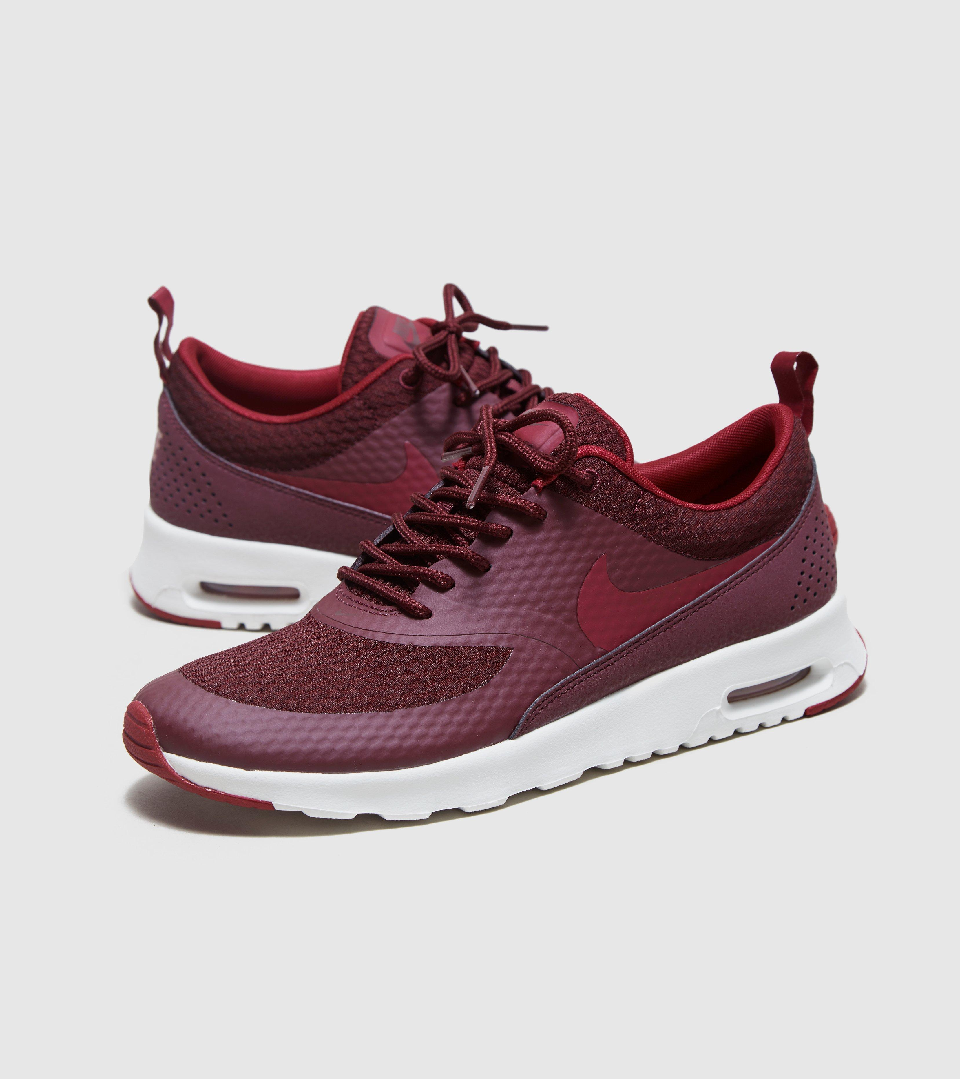nike air max thea womens burgundy dress