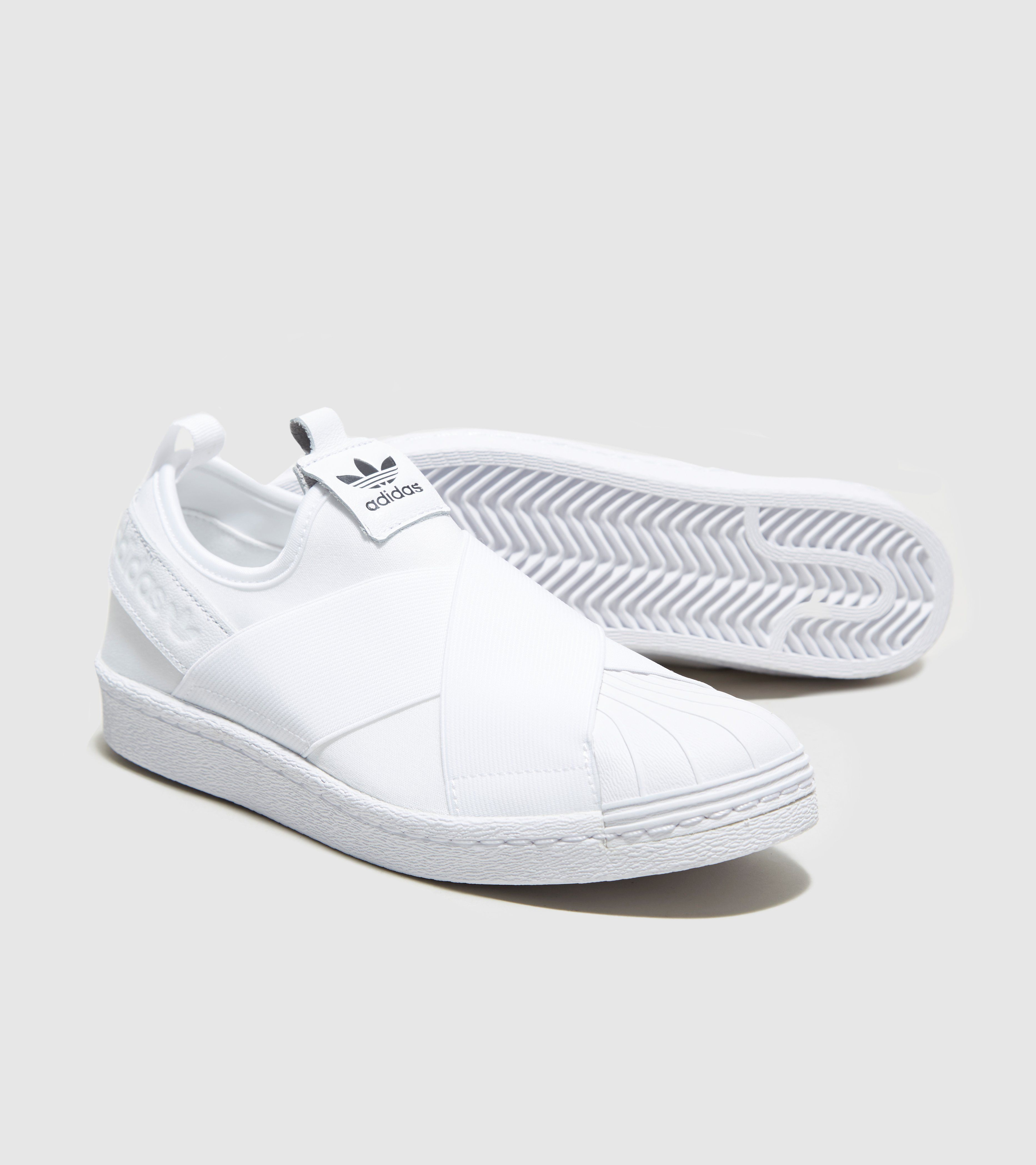 adidas slip on white