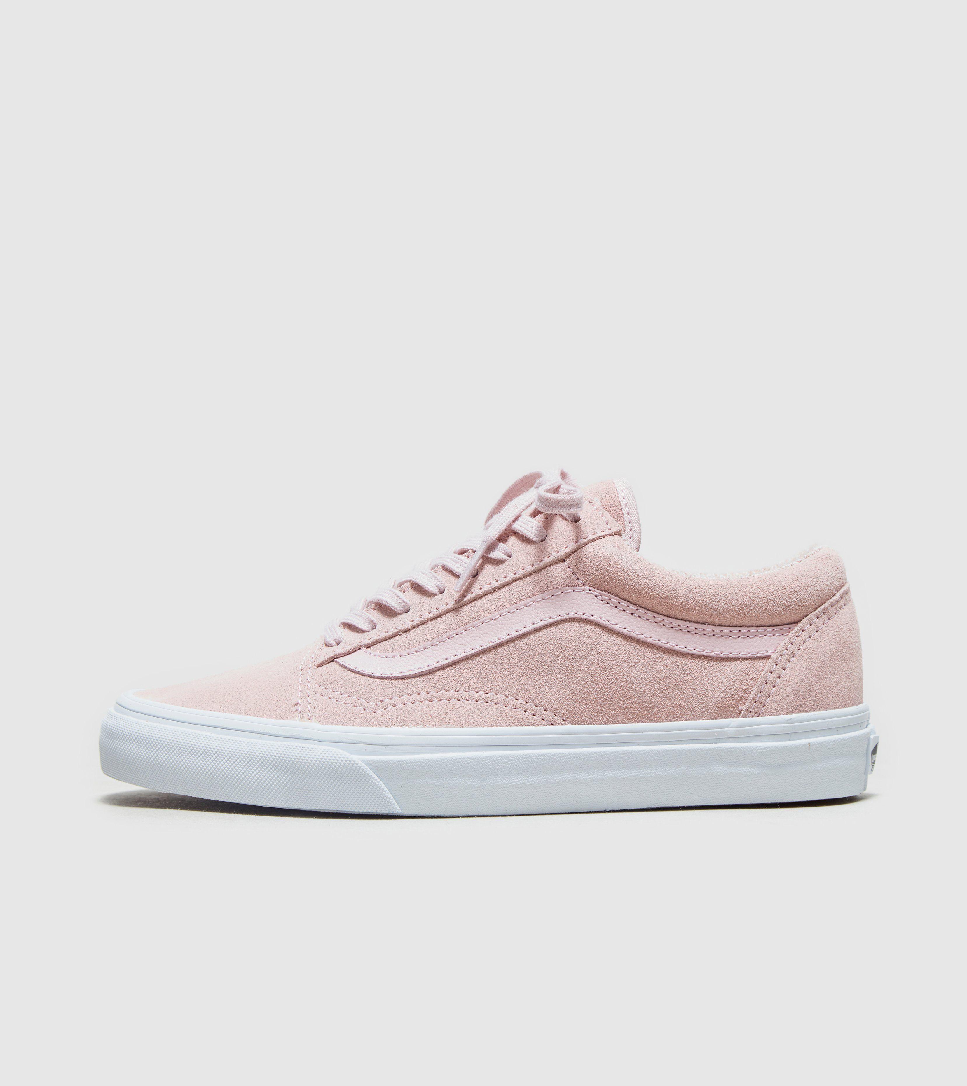 vans damen old skool suede pink