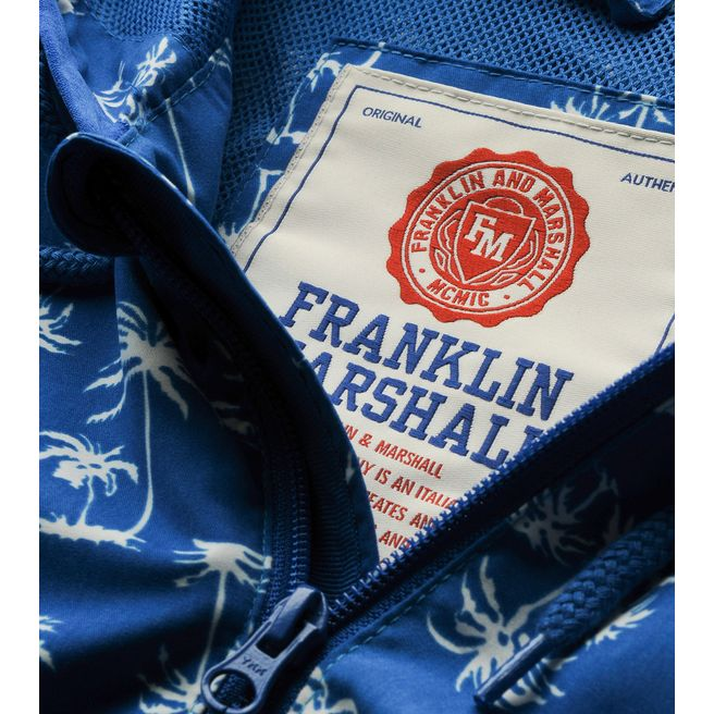 Franklin & Marshall Palm Print Jacket