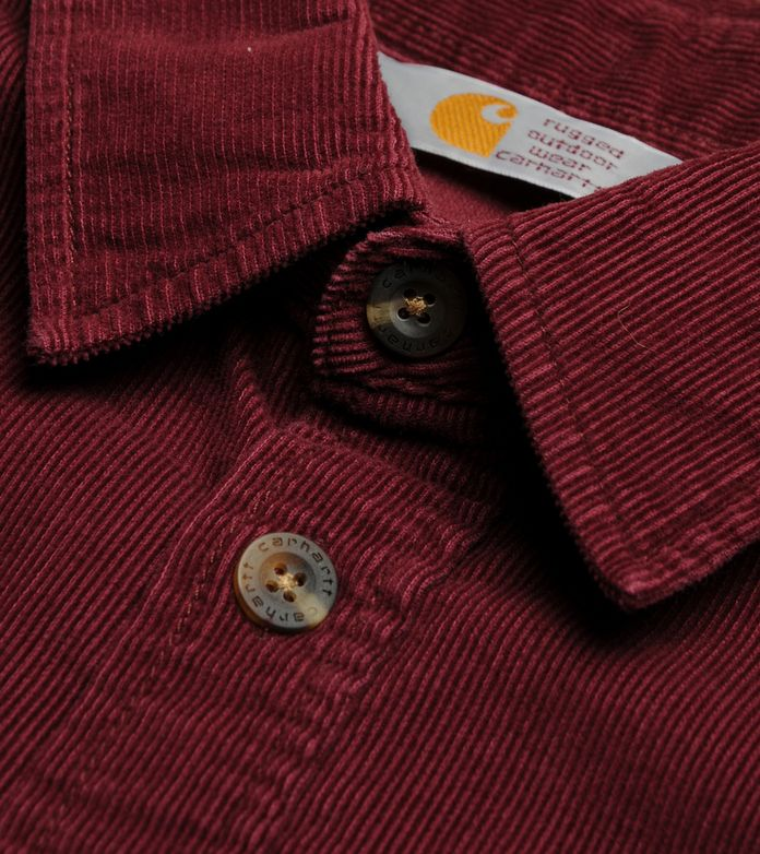 Carhartt Job Cord Long Sleeve Shirt