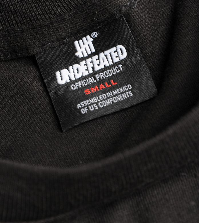 Undefeated Block T-Shirt