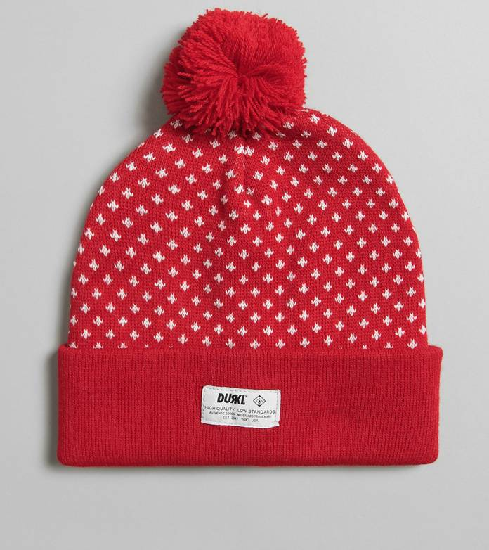Durkl Polka Bobble Hat