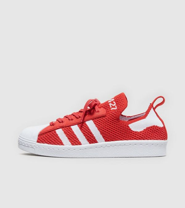 adidas superstar 80s primeknit red