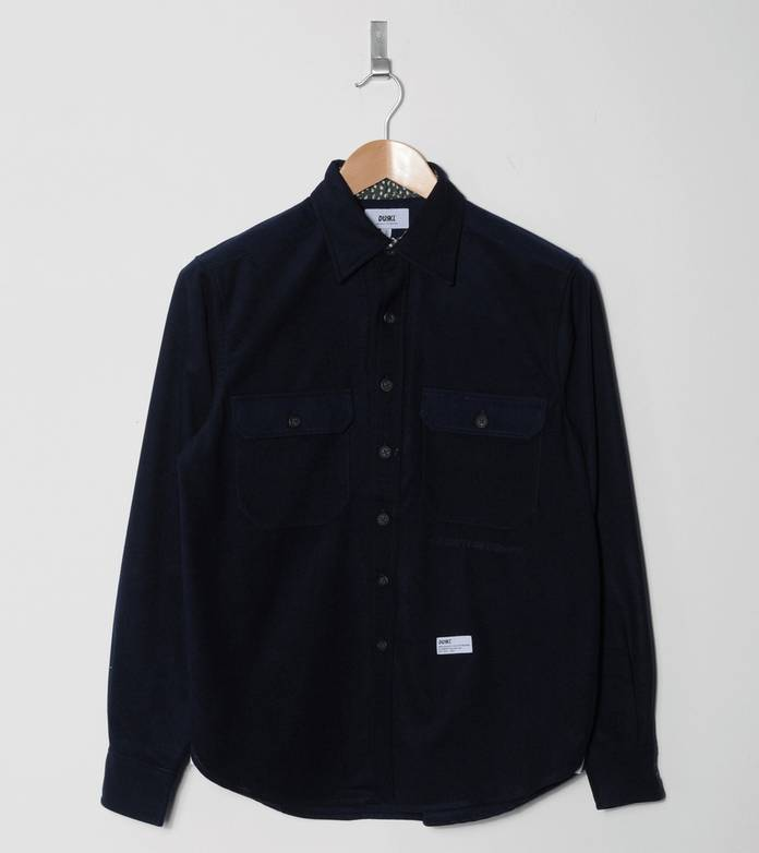 Durkl Allentown Long Sleeve Wool Shirt