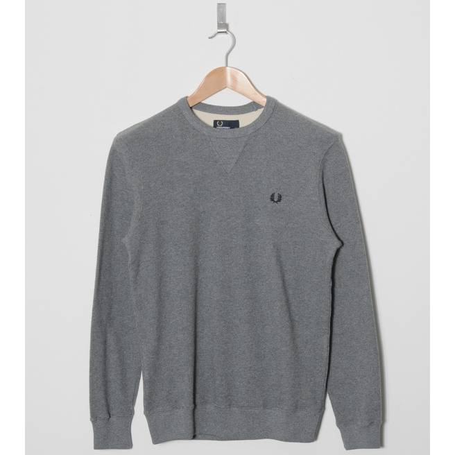 Fred Perry Waffle Crew Knit