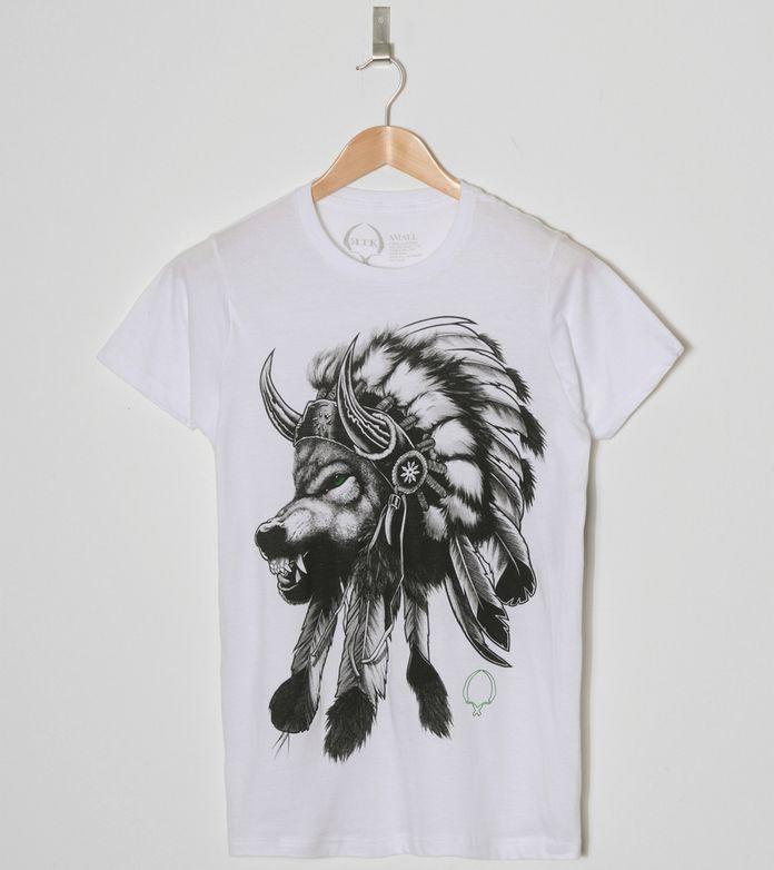 Rook Wolf Headress T-Shirt