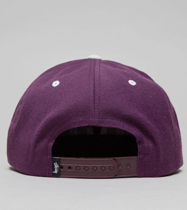 Stussy Double S Snapback Cap  6e38401b035