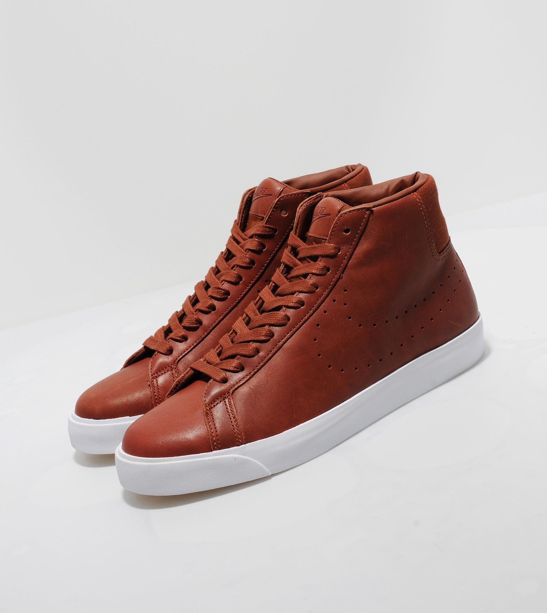 nike blazer premium leather
