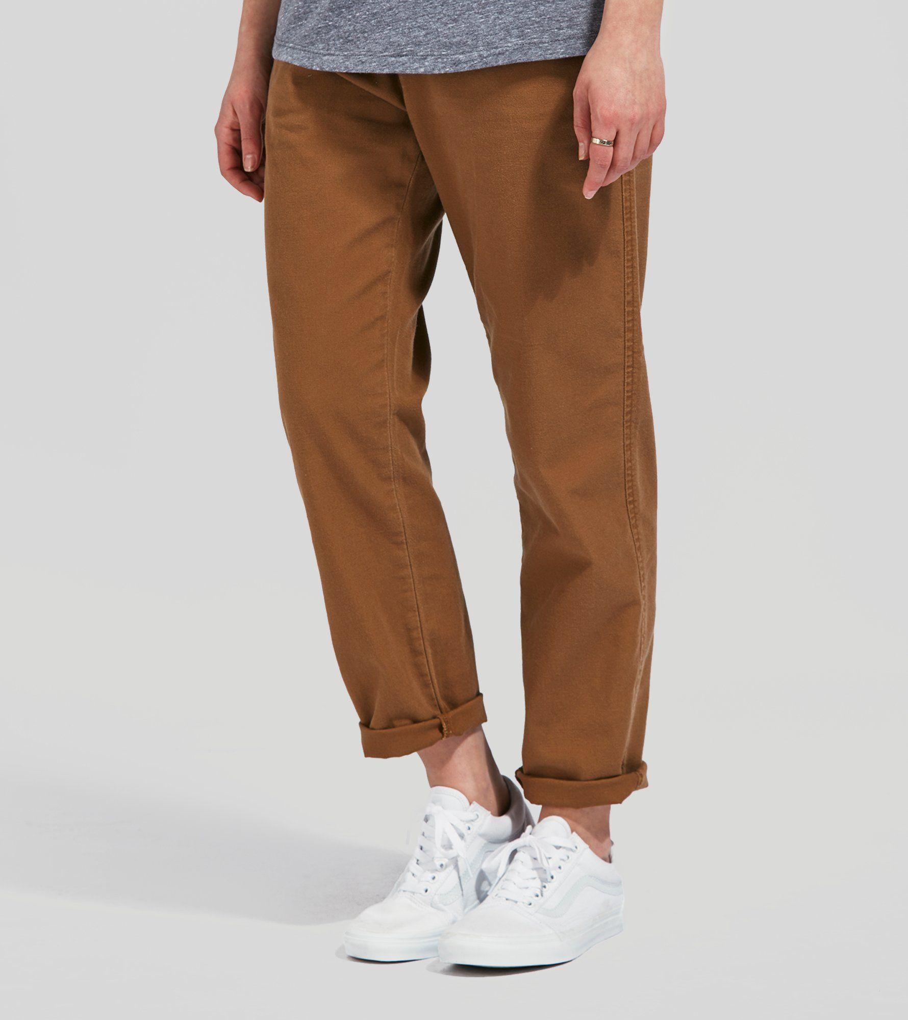 Pierce Ankle Jeans white Carhartt Work in Progress Spielraum Bilder Günstig Kaufen Bequem Mode-Stil Günstig Online Echt Günstig Online Kaufen Online-Verkauf DdETAa