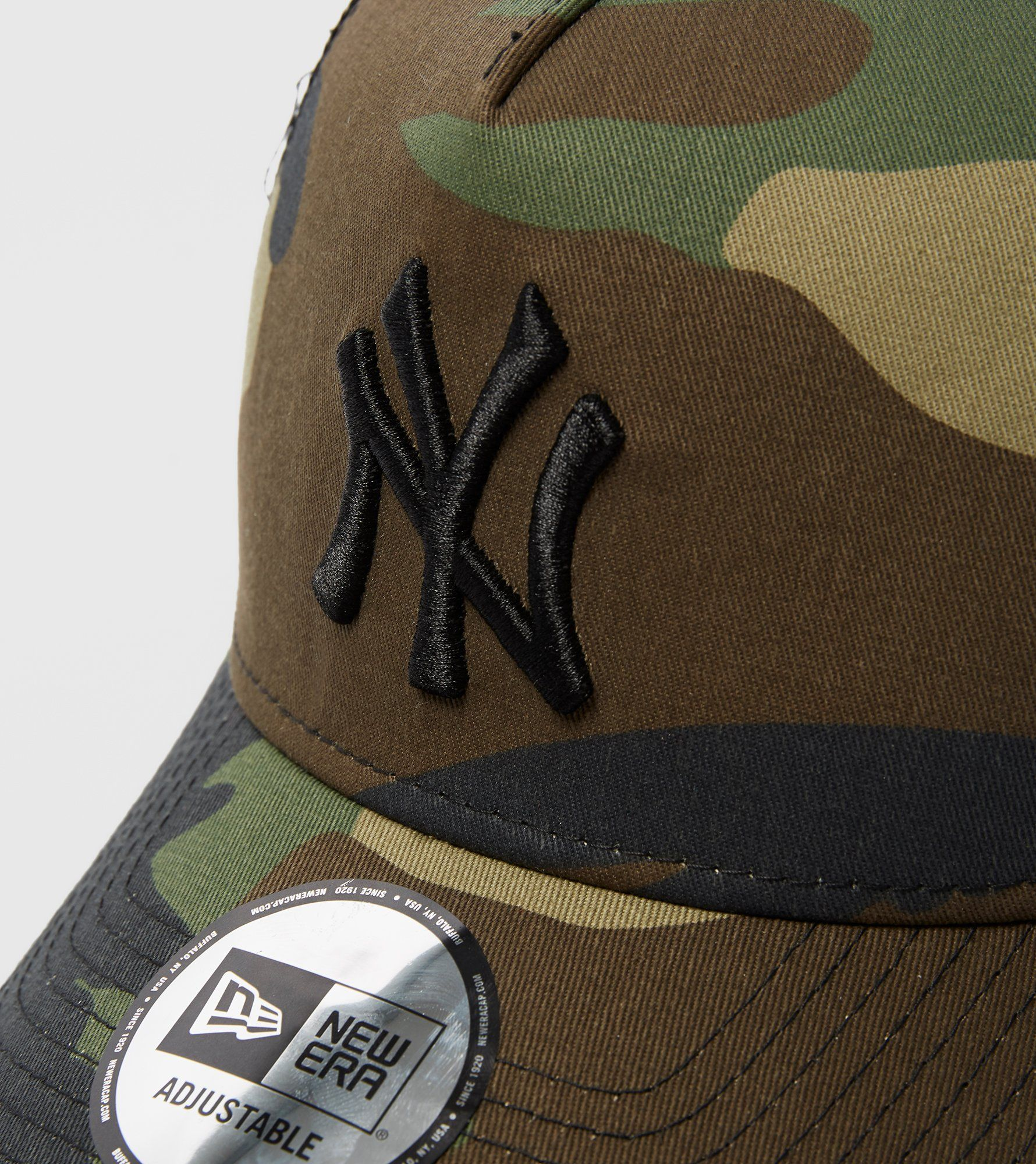 New Era A Frame New York Trucker Cap