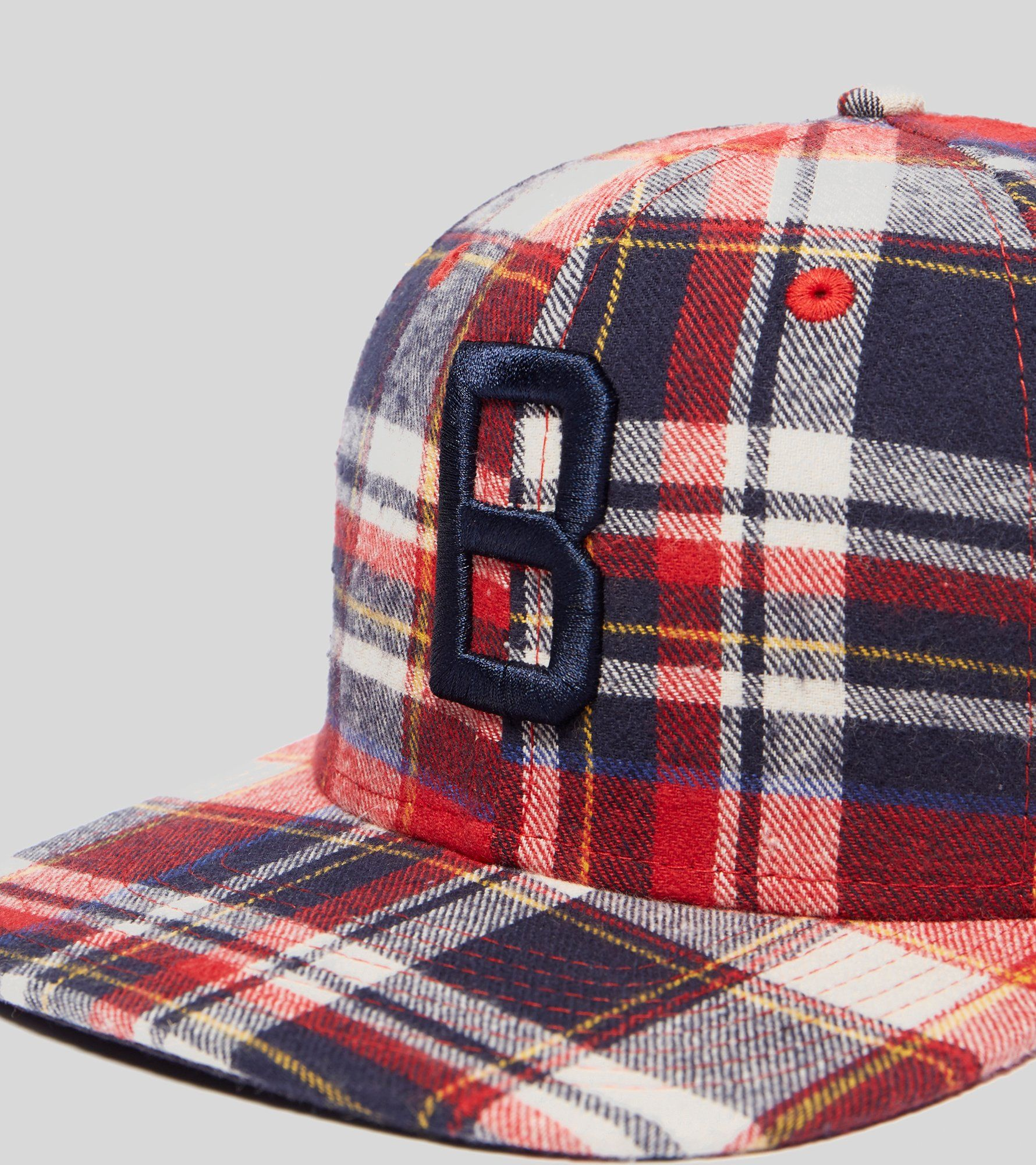 New Era Casquette 9Fifty Plaid Brooklyn Dodgers