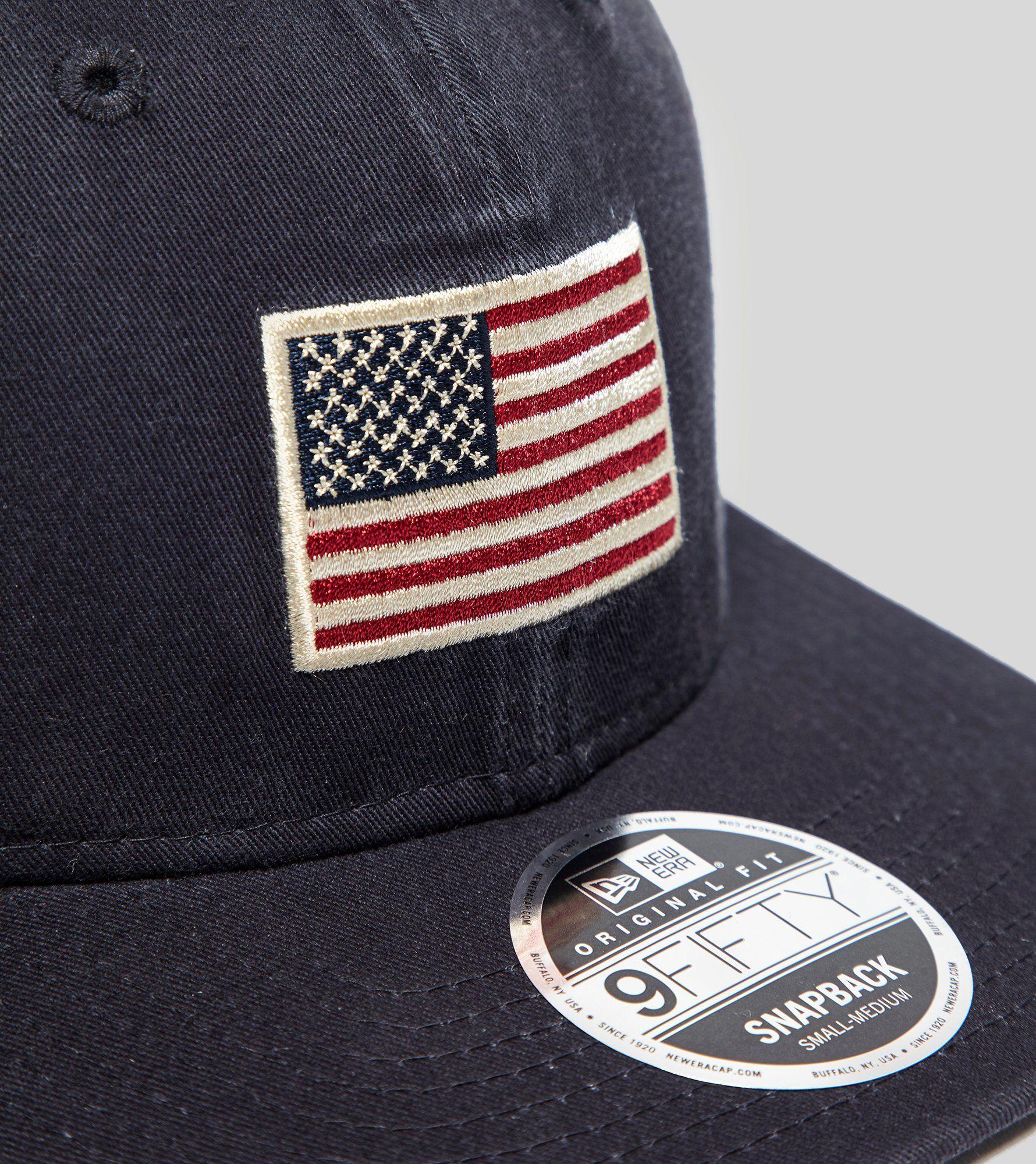 New Era 9FIFTY USA Flag Cap