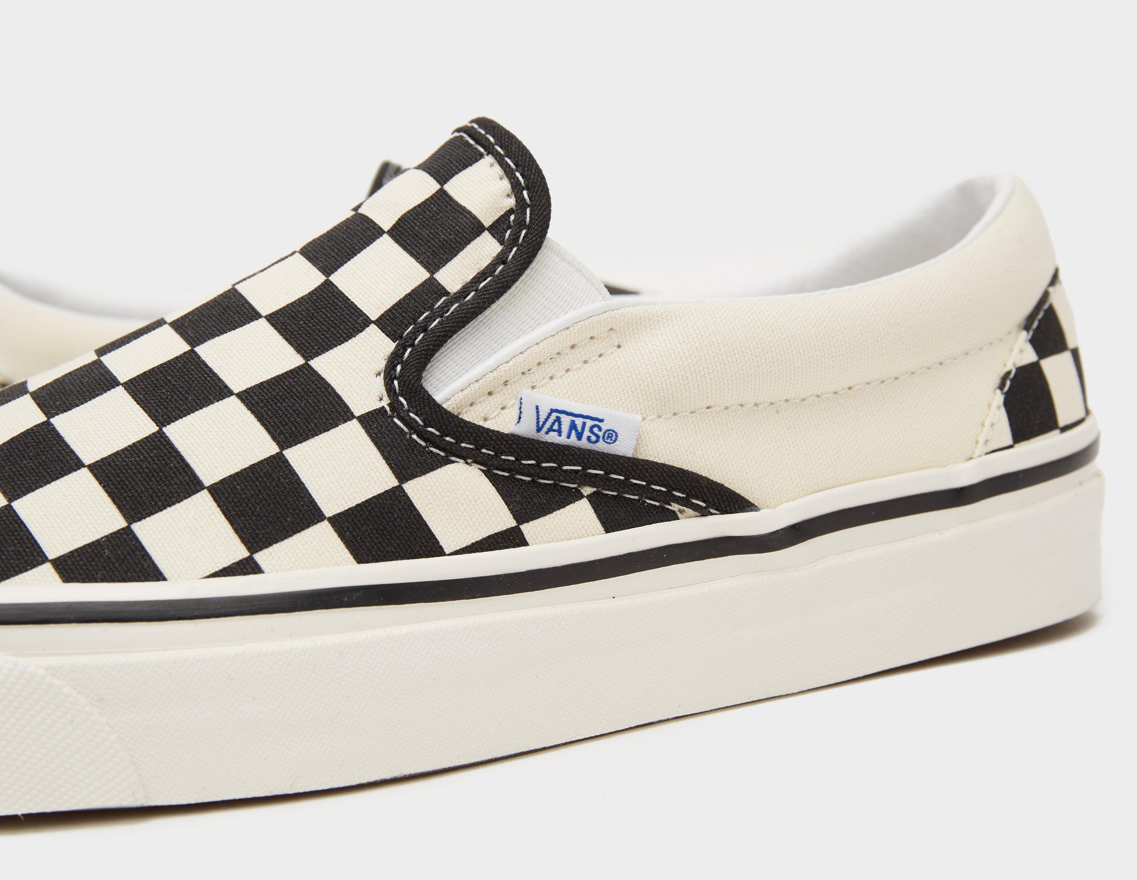 Vans Anaheim Checkboard Slip-On Women's