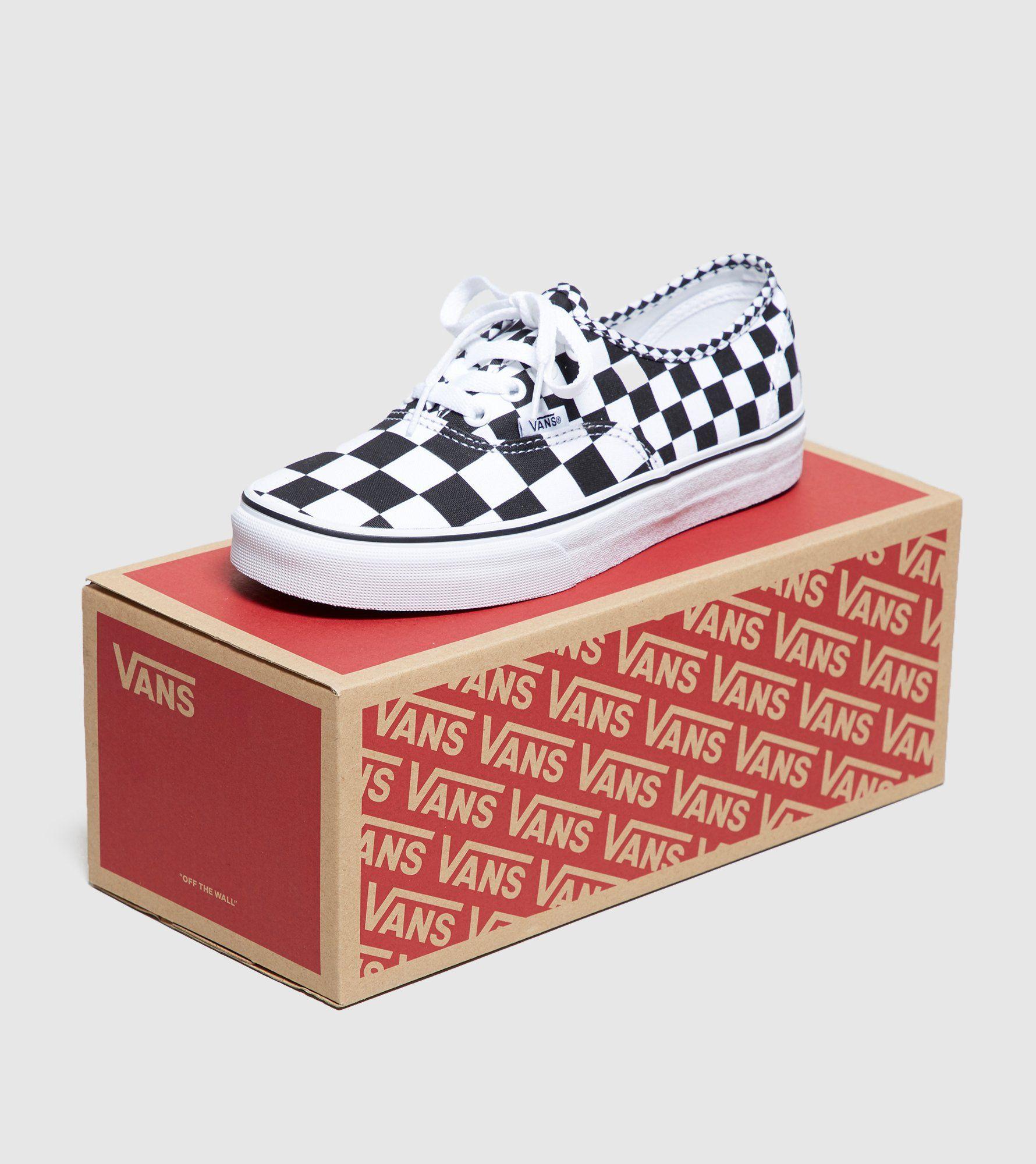 Vans Authetic Checkboard Women's