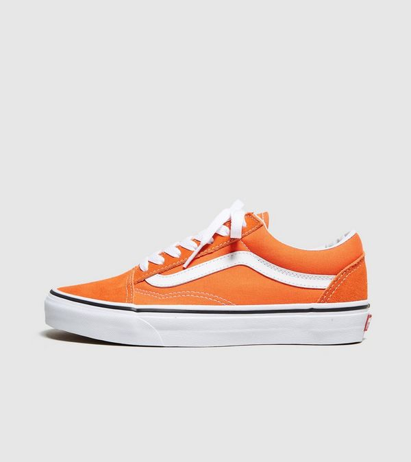 vans old skool  naranja