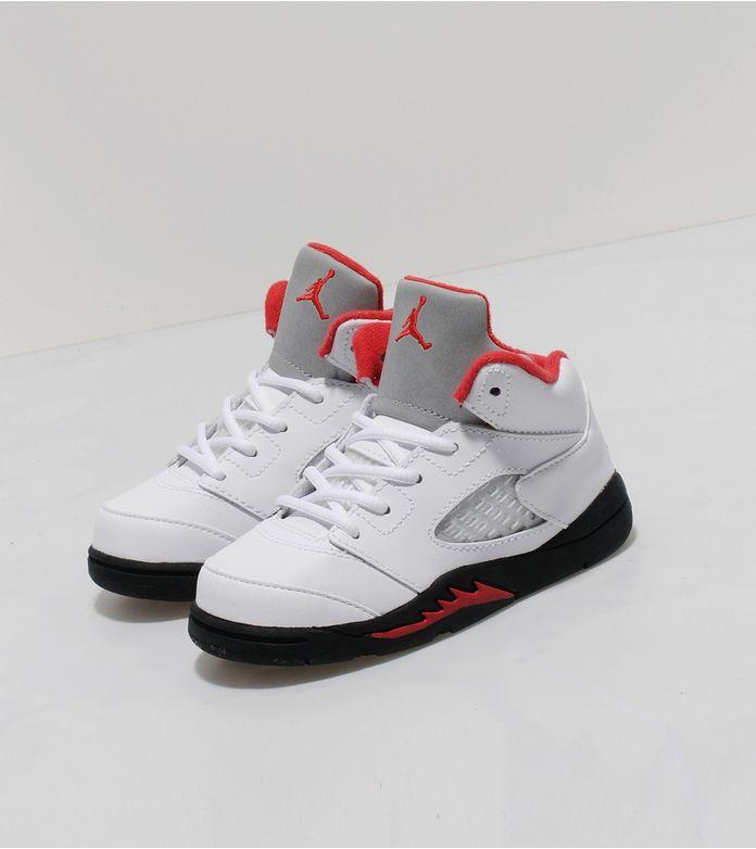 Jordan V Retro 'Fire Red' Infants