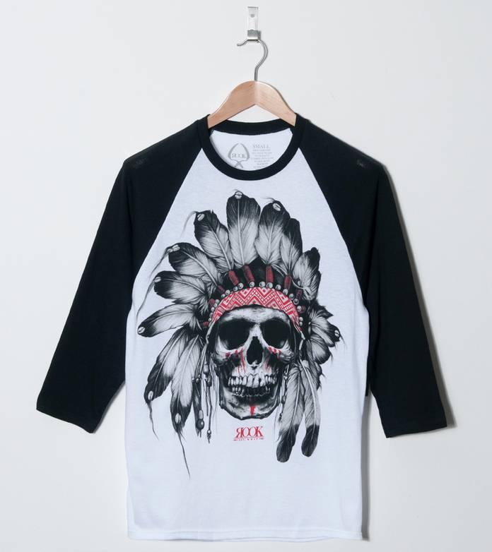 Rook Chief Skull Raglan T-Shirt