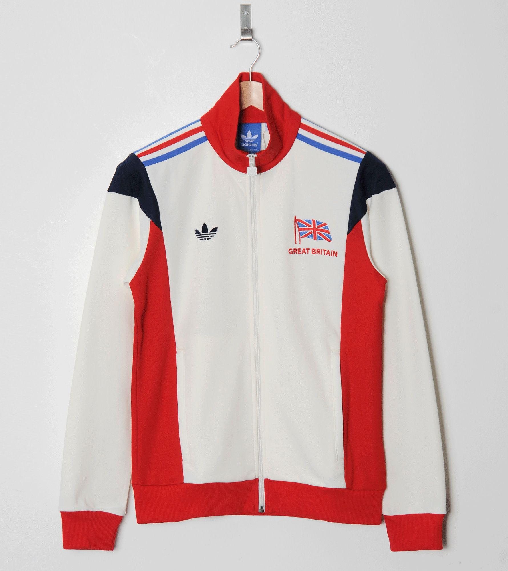 Adidas Originals Team Gb Track Top Size