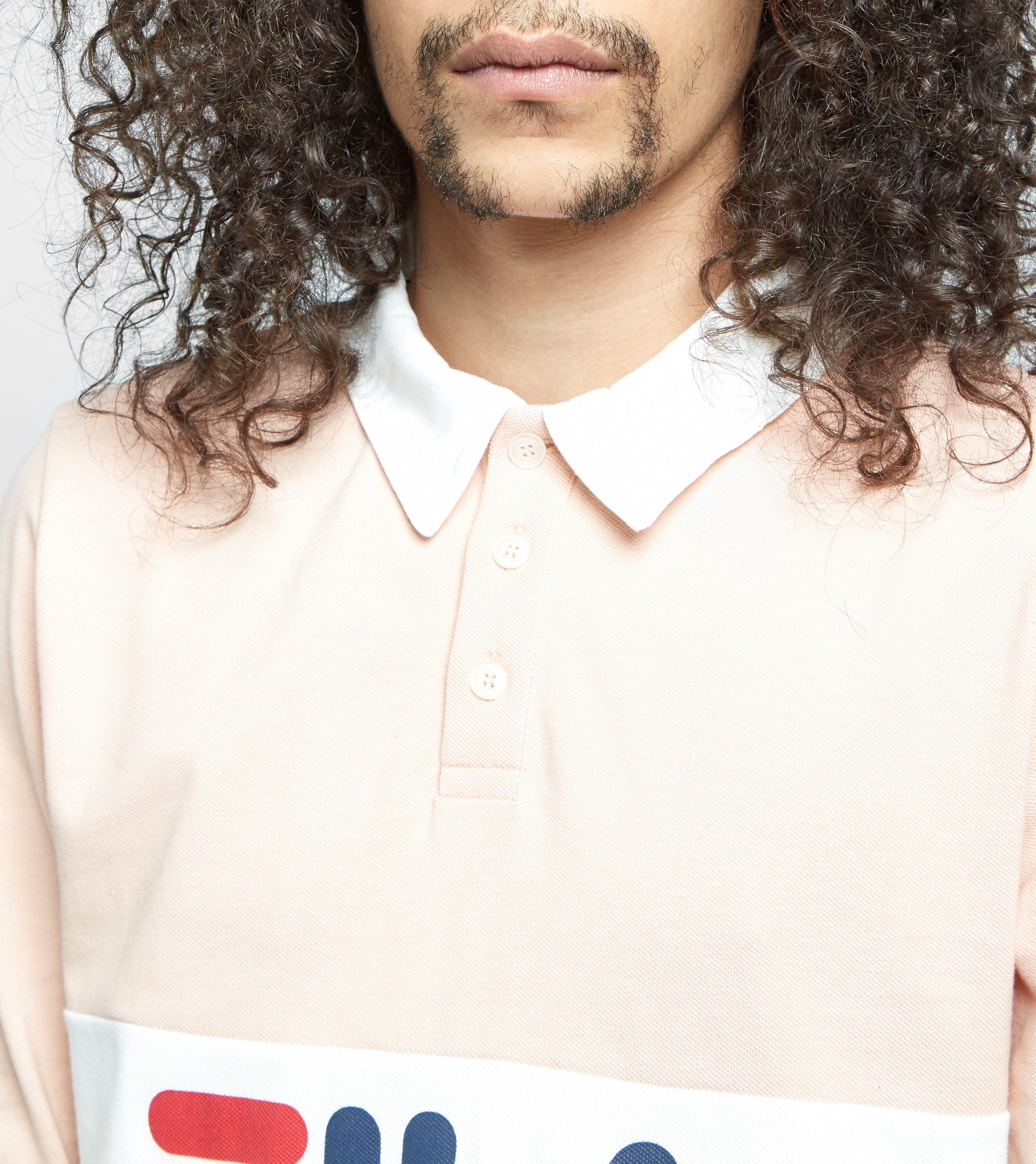 Fila Uragan Long Sleeved Polo Shirt - size? Exclusive