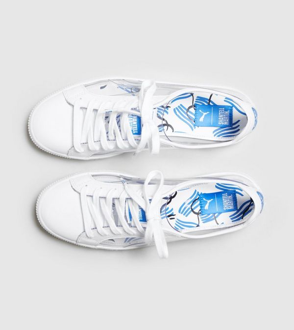 PUMA CLYDE SHANTELL MARTIN WOMENS SNEAKERS 8d5bfd716