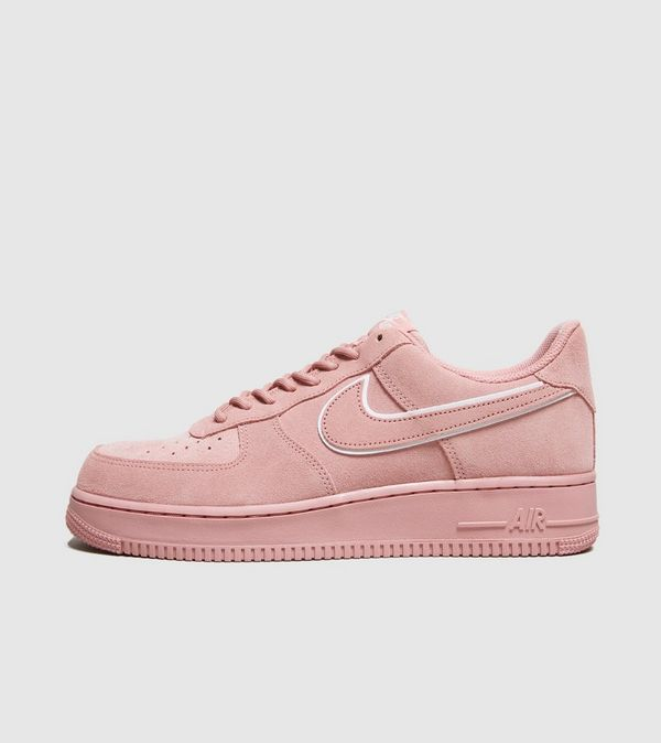 nike air force 1 roze suede