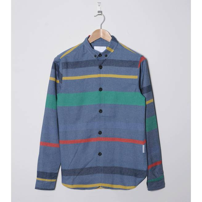 Humor Danni Stripe Long Sleeve Shirt