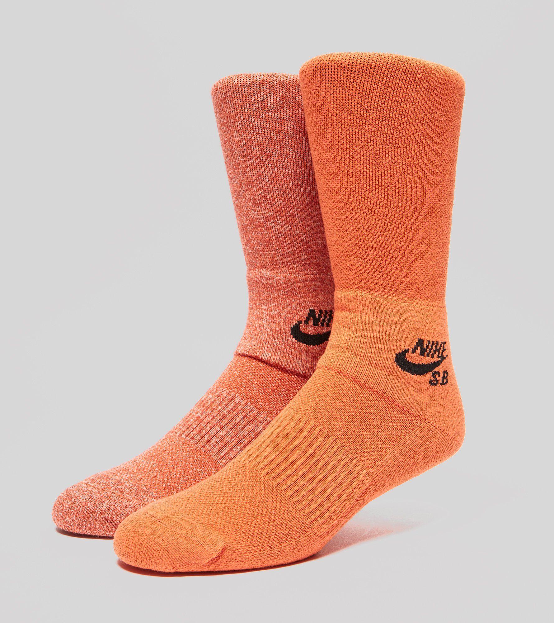Nike SB Graph Skateboarding Socks - 2 Pack