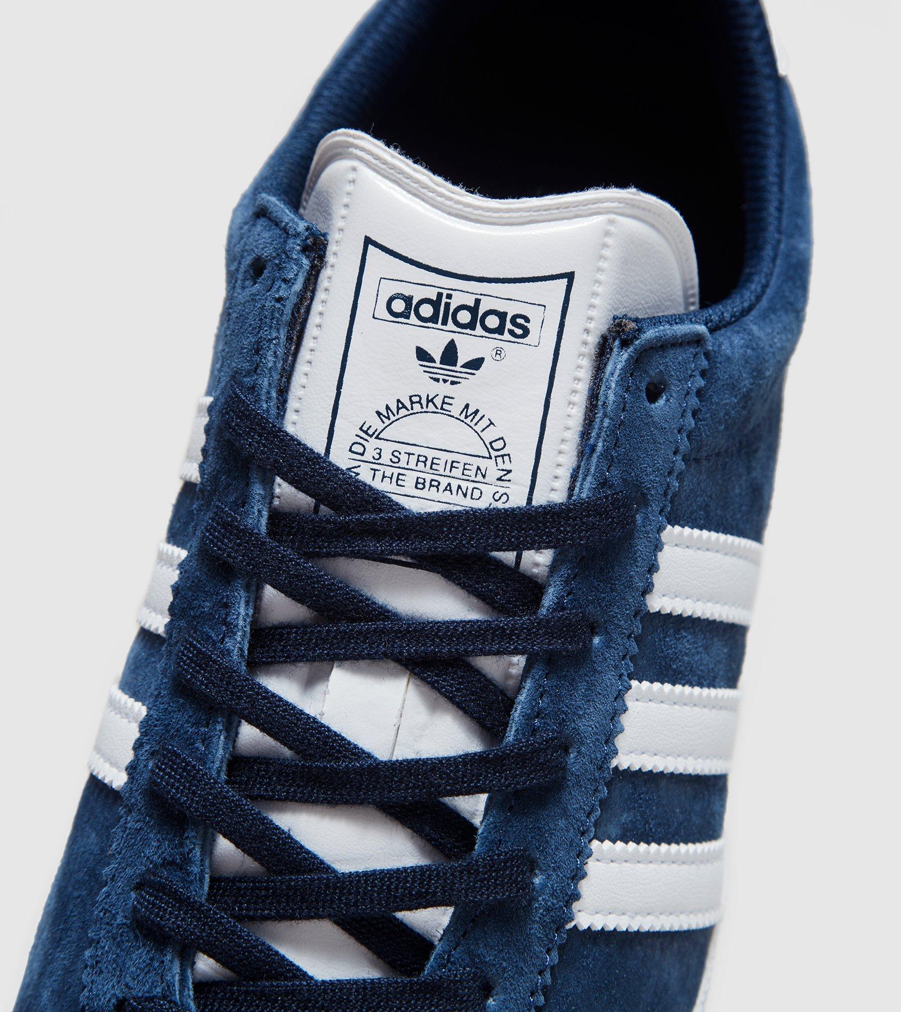 Adidas Gazelle Og Dark Indigo/White Suede Trainers
